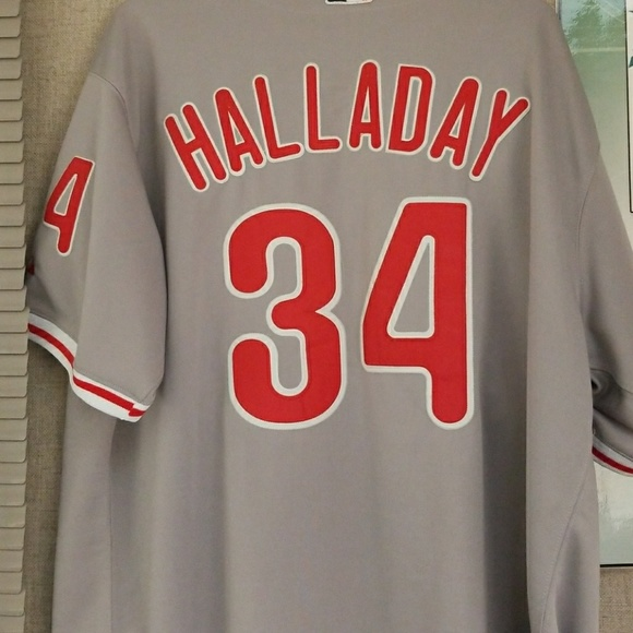 Majestic Other - Roy Halladay Phillies Jersey 393e425f4d6